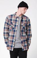 Tavik Vincent Plaid Flannel Long Sleeve Button Up Shirt