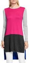Vince Camuto Women's Colorblock Tunic Sweater