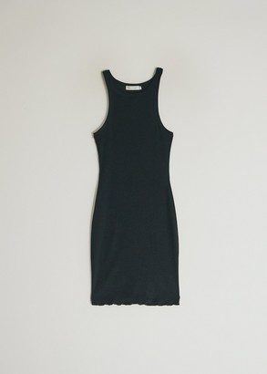 Which We Want Women's Emma Ribbed Knit Dress in Black, Size Small | Spandex