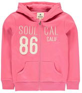 Soul Cal SoulCal Zip Hoody Junior Girls