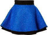 Fausto Puglisi Mohair Blend Boucle Flared Skirt