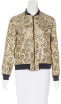 Equipment Jacquard Bomber Jacket