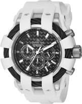 Invicta Men's Bolt White Polyurethane Band Steel Case Swiss Quartz Dial Analog Watch 23856
