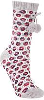 John Lewis Circle Knit Patterned Novelty Ankle Socks, Multi