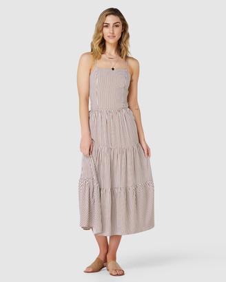 Elwood Stella Midi Dress