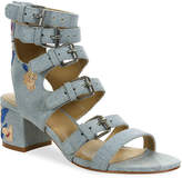 Gunmetal Women's Doree 2 Sandal -Light Blue