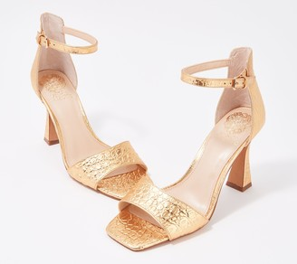 Vince Camuto Two-Piece Heeled Sandals - Reesera