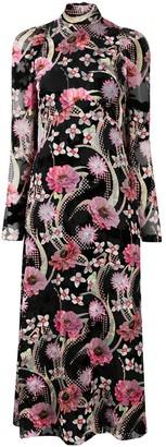 Temperley London Tippi floral-print midi dress