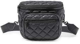 Steve Madden Quilted Faux Leather Shoulder Bag
