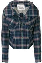 Vivienne Westwood Women's Blue Cotton Jacket.