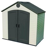 Lifetime Outdoor Storage Shed 8' x 5' - Gray And White
