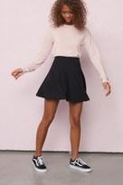 Garage Panelled Skater Skirt