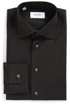 Eton Men's Slim Fit Dot Dress Shirt