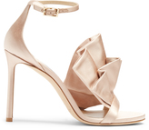 Jimmy Choo Kami 100mm satin sandals