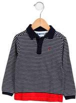 Jacadi Boys' Striped Long Sleeve Shirt