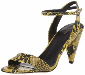 Via Spiga Womens Ria Lemon Dress Sandal 7.5 M