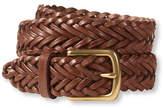 L.L. Bean Essential Braided Leather Belt