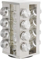 HOME 16 Jar Stainless Steel Revolving Spice Rack