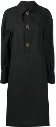 Bottega Veneta Long-Sleeve Shirt Dress