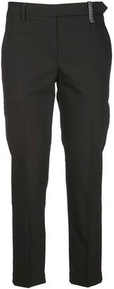 Brunello Cucinelli Cigarette Trousers