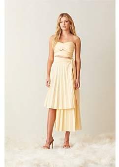 Bec & Bridge Bec + Bridge Fia Pleated Midi Skirt