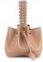 Alaia small wristlet bucket bag