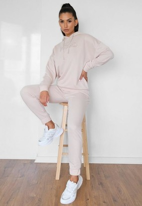 Missguided Nude Msgd Slim Fit Joggers