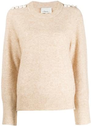3.1 Phillip Lim pearl shoulder sweater