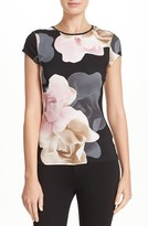 Ted Baker Women's 'Tarlia - Porcelain Rose' Fitted Tee