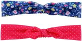 Carter's Baby Girl 2-pk. Floral & Dotted Head Wrap Set