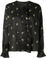 Isabel Marant floral embroidered Uamos shirt
