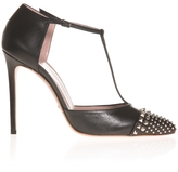Gucci Studded T-Bar High Heels
