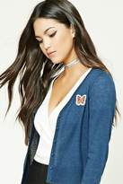 Forever 21 FOREVER 21+ Butterfly Patch Cardigan