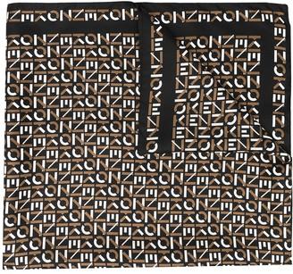Kenzo Monogram Printed Scarf