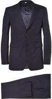 Burberry Navy Slim-Fit Wool Suit