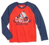 adidas Boy's Sport Graphic Baseball T-Shirt