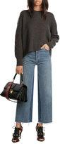 Helmut Lang Wool-Cashmere Open Back Pullover