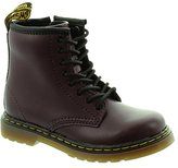 Dr. Martens Kids Delaney 1460 8 Eyelet Zip Leather Boots 2 US