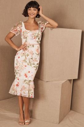 Marchesa Margritte Dress