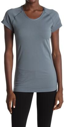 Z By Zella Meridian Mesh Back Seamless T-Shirt