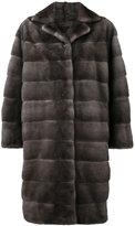 Liska - Ella coat - women - Mink Fur - S