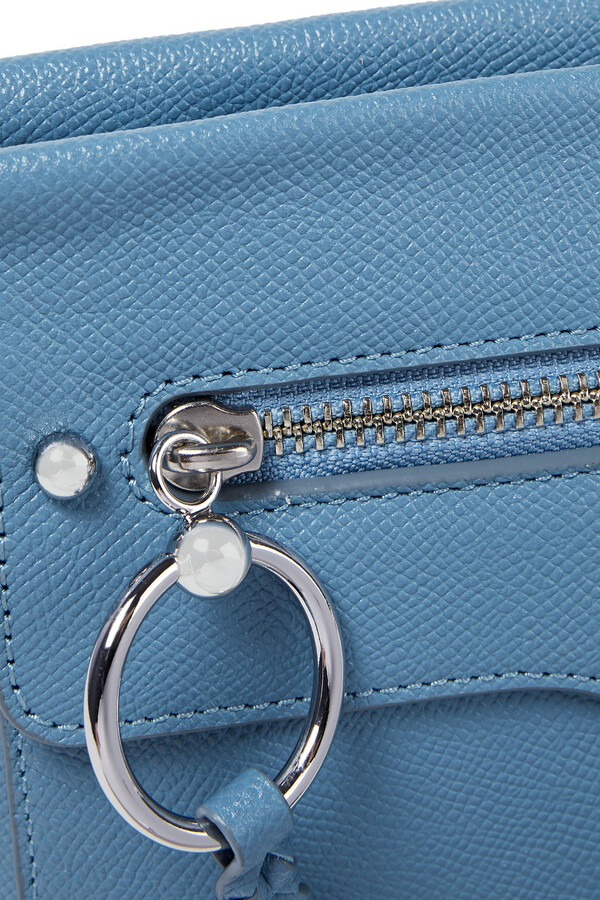 Thumbnail for your product : Rebecca Minkoff M.a.b. Textured-leather Shoulder Bag