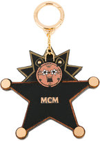 MCM Charstar Lion keyring - women - Calf Leather/metal - One Size