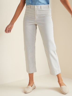 Old Navy High-Waisted Slim Wide-Leg Chinos for Women