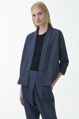 Cos Organic Cotton Kimono-Shape Jacket