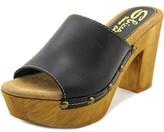 Sbicca Taffy Open Toe Leather Platform Sandal.