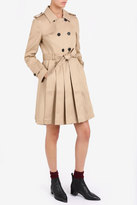Thom Browne Pleated Skirt Trench