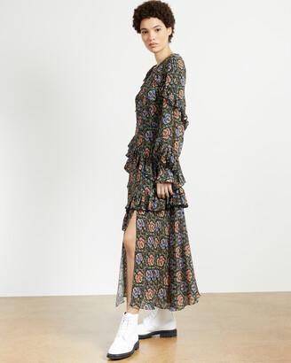Ted Baker TEDI Printed Midi Dress
