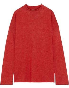 Mansur Gavriel Alpaca And Silk-blend Sweater