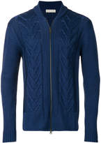 Etro zipped knitted cardigan